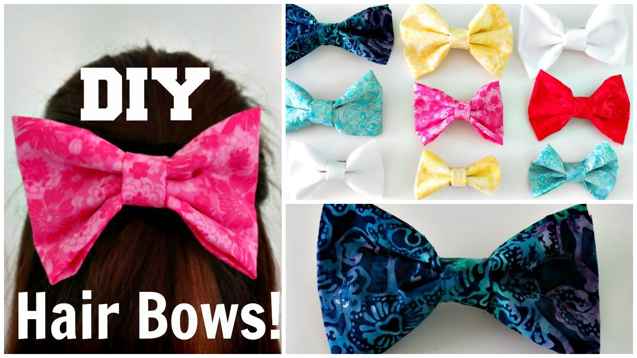 diy hair bow -sew madison