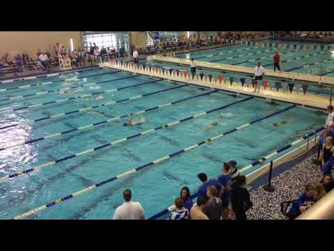 Preston Willis - 2018 Short Course State - 100 Back