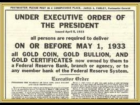 Government confiscating gold?