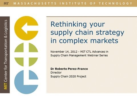 Rethinking Supply Chain Strategy in Complex Markets
