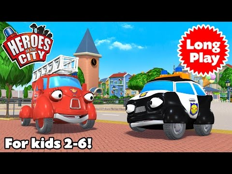 Heroes of the City - Preschool Animation - Non-Stop!  Long P
