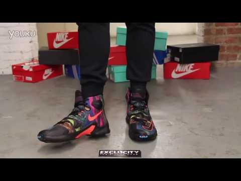 official photos f11c5 beeba ... Cheap Nike Lebron 13 Akronite Philosophy On www.lebrons-cheap.com ...