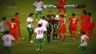 Irfan Bachdim Fight - Vietnam vs Indonesia Friendly Match (Oct 16, 2012)