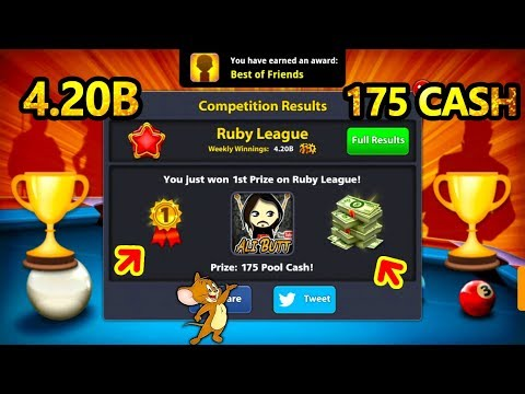 🏆 4.20 Billion Winnings 175 Cash League Top 8 Ball Pool 🏆 Berlin Platz 50m 🔫🔫