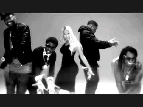 YG Ft Lil Wayne, Rich Homie Quan, Meek Mill & Nicki Minaj - Ma Nigga Remix (Explicit)