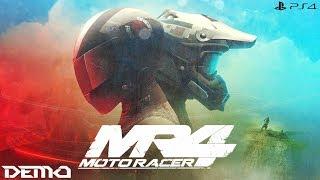 Moto Racer 4 Demo   Full Demo Gameplay: Single Race/10 Player