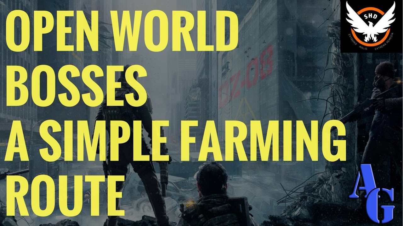 Map Of World Bosses In The Division.The Division Simple Open World Bosses Farming Route Youtube