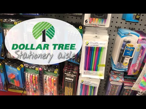 Dollar Tree Shop With Me Stationery Aisle