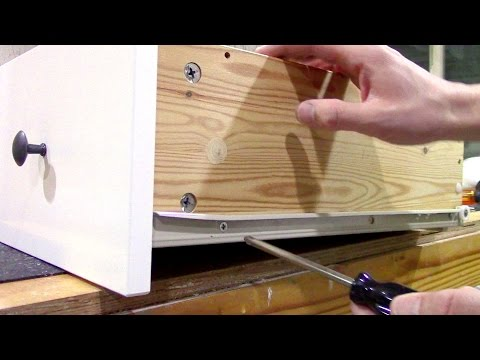 How to fix loose wood furniture screws - Ikea Repair
