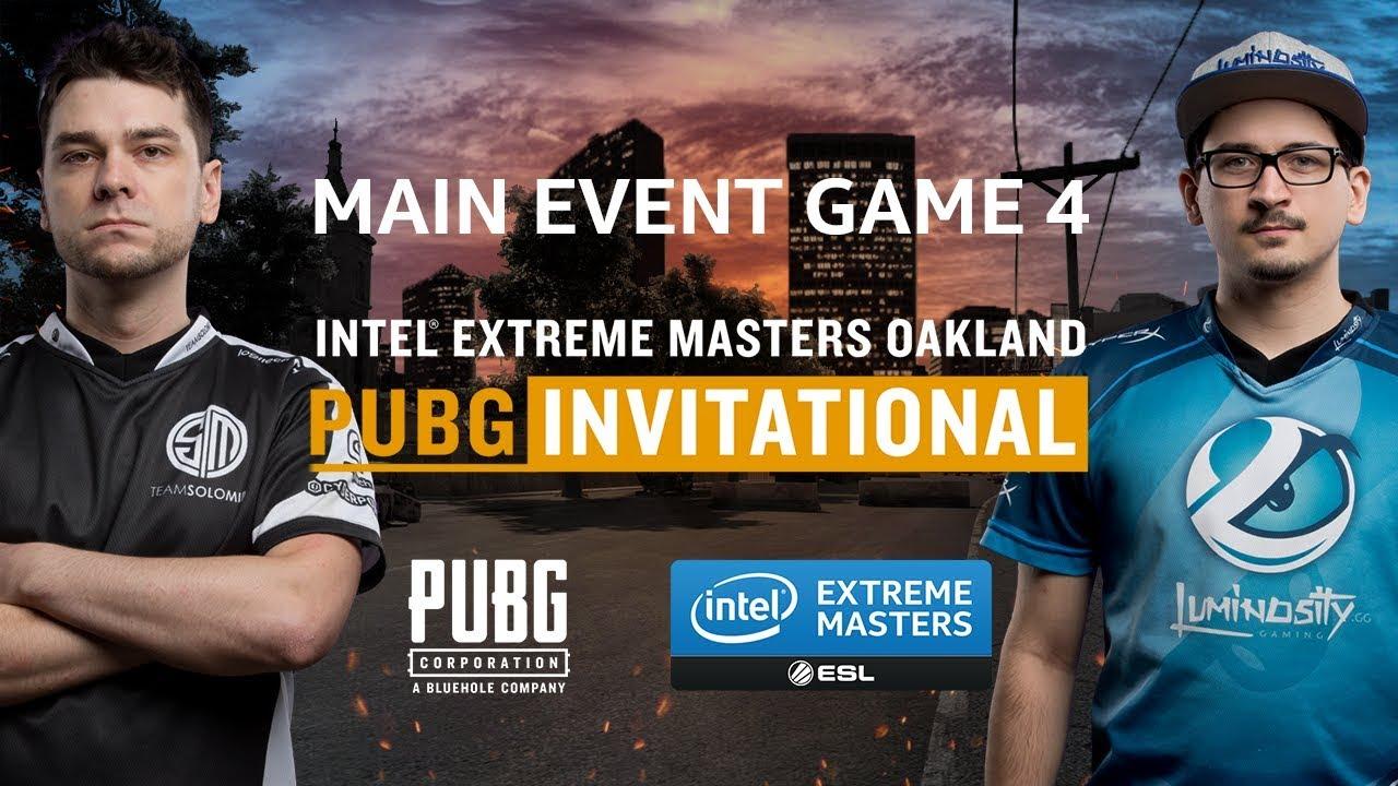 Pubg Game  Final Iem Oakland Pubg Invitational