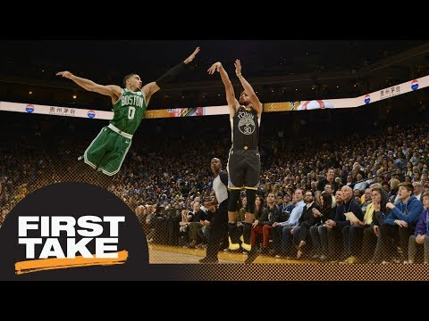 Stephen A. Smith on Steph Curry: He\'s the greatest shooter I\'ve ever seen | First Take | ESPN