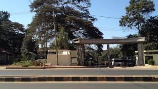 Last run on the pikipiki to the Nairobi National Museum. June 2014