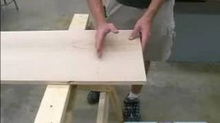 How To Build A Sawhorse : How To Use A Sawhorse