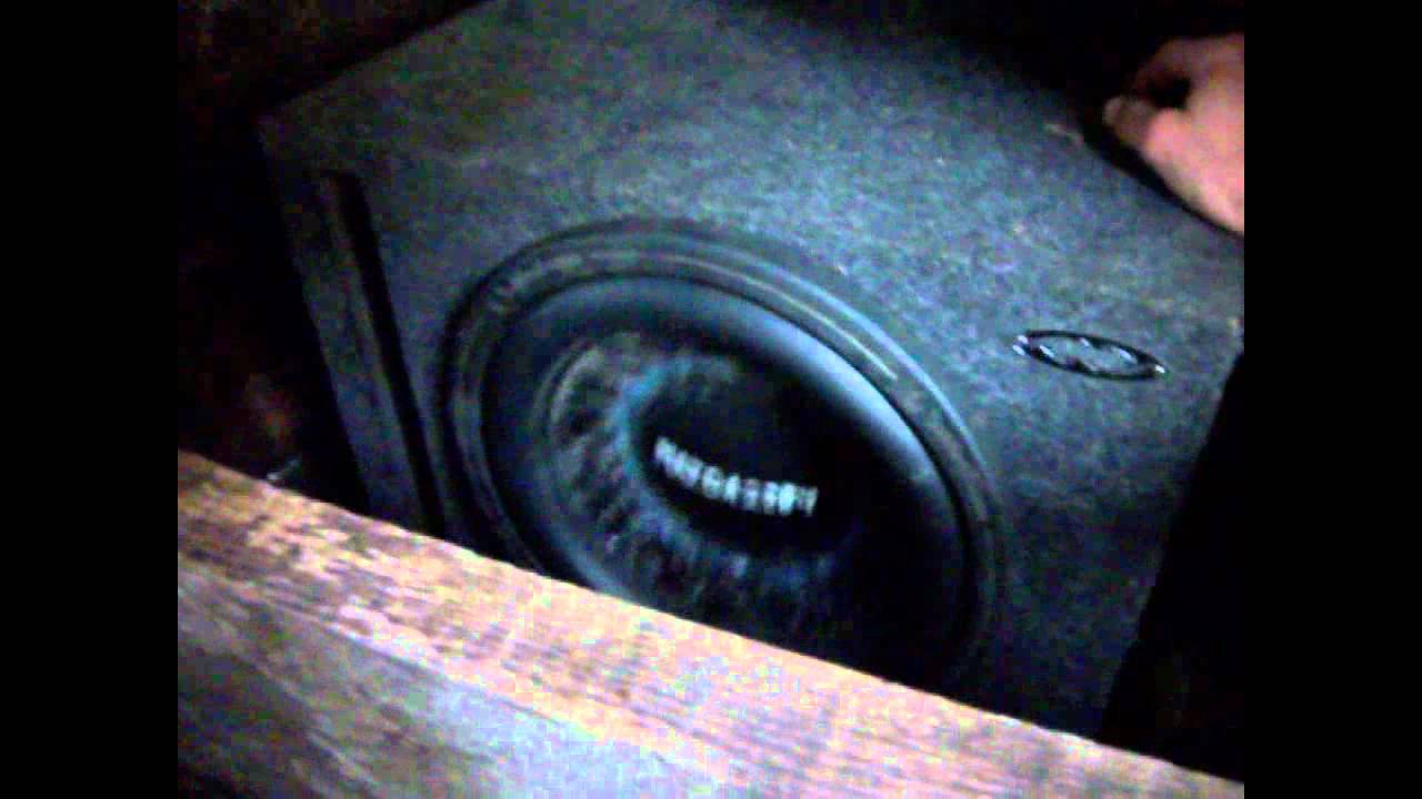 Rockford Fosgate Punch Hx2 12 Subwoofer With A Custom Recone Built By Mazda2284