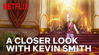 A Closer Look at MASTERS OF THE UNIVERSE: REVELATION with Kevin Smith | #GeekedWeek