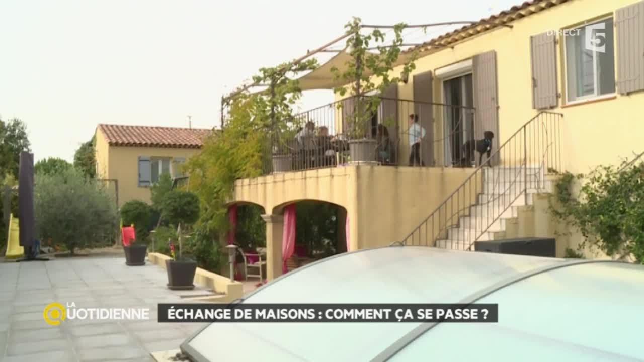 Conteneur Maison A Vendre dedans Échange de maison: comment ça se passe ? - youtube