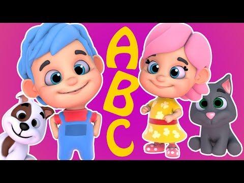 ABC | Alphabet ABC  | Kiddo Kiddy - Compilation