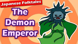 Japanese Folktales: The Demon Emperor (Emperor Sutoku Goes CRAZY)