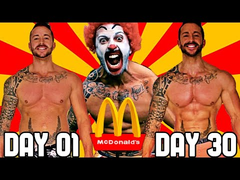 Dan Joyce - Guy Loses 15 Pounds On A 30 Day McDonald's Only Diet