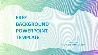 Gambar cover Background Powerpoint Elegant Colorful - Free Download