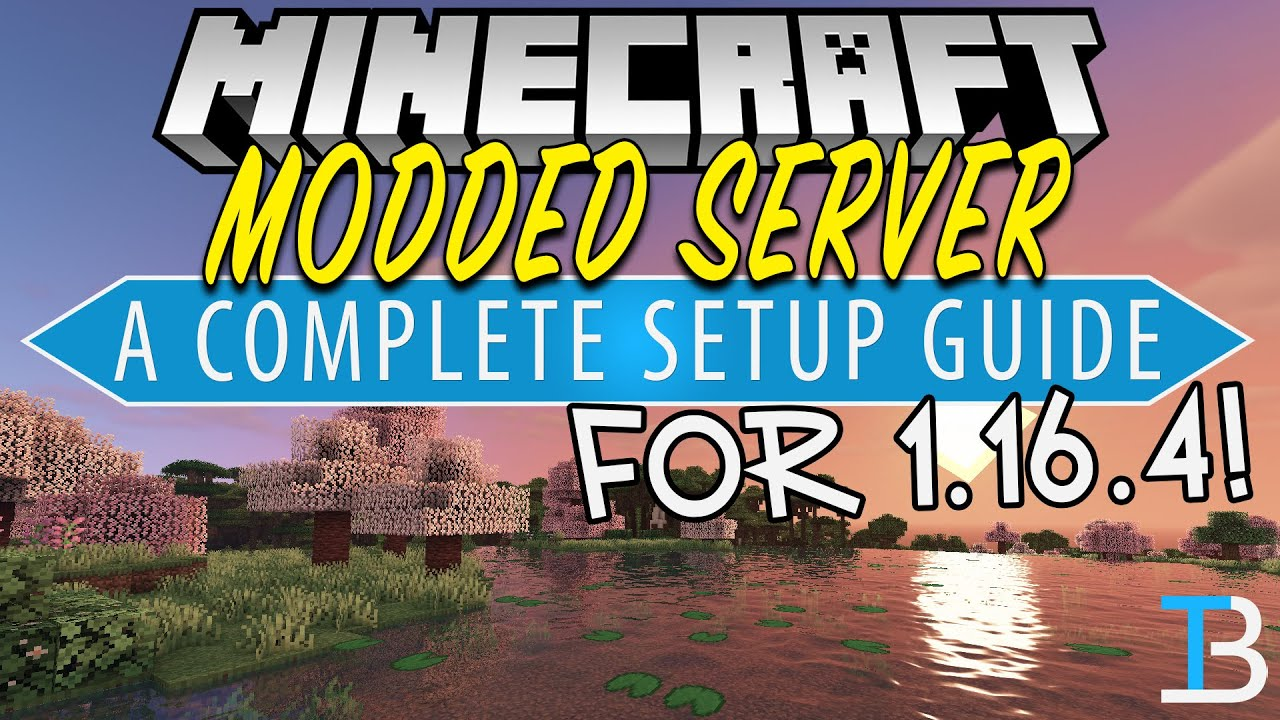 How To Make A Modded Minecraft Server in 1 16 4 (Forge Server for