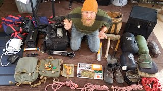 Packing For Canada & 2 Weeks With The Wooded Beardsman