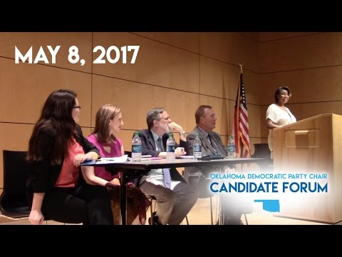 The OCDP Hosts: Oklahoma Democratic Party Chair Candidate Forum