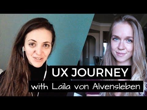 Laïla's Journey into UX Design - Talking UX with Laïla von Alvensleben