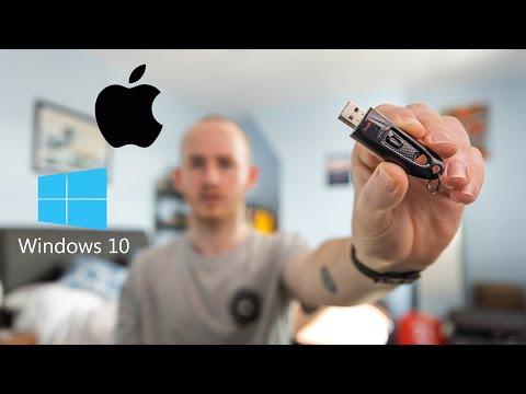 Make A Windows 10 ISO Bootable USB Using MAC OS + ExFAT (Macbook Pro)
