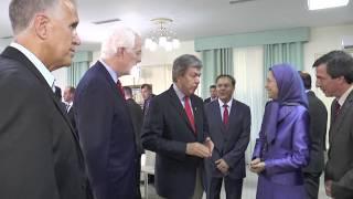 شيوخ أميركيون: حل ازمات المنطقة بتغيير النظام الايراني