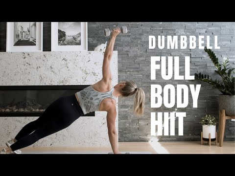 Dumbbell Only // FULL BODY HIIT Workout