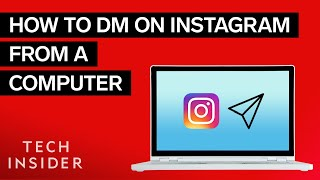 How To DM On Instagram From A Computer