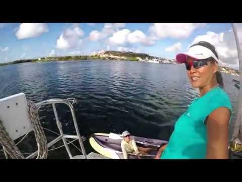 "KATAMARAN ISIS - The best Place in Curacao ""Caracas bay"