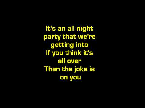 The Joke Is On You Lyrics [Niki Watkins]