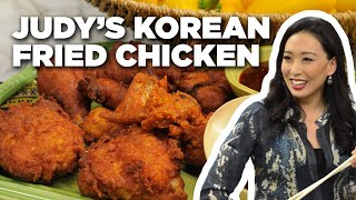 Judy Joo's Ultimate Korean Fried Chicken Recipe | The Kitchen | Food Network