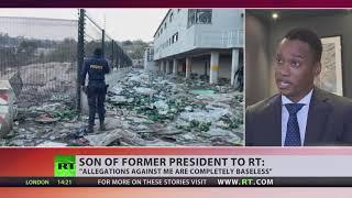Duduzane Zuma talks to RT