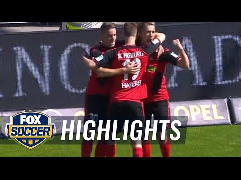 Nils Petersen gives SC Freiburg the lead  | 2016-17 Bundesliga Highlights