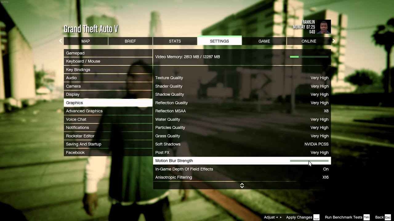 GTA V (PC) Options & Graphic settings walkthrough (1080p/60fps)