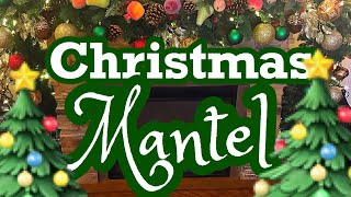 DIY Christmas Mantel Challenge