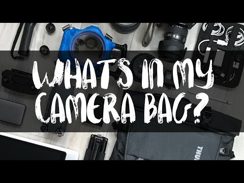 WHAT'S IN MY CAMERA BAG?? /// Full-time Travel Journalist Garrett Gee of The Bucket List Family
