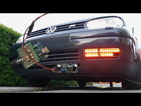 🇩🇪 Blinker und Tagfahrlicht für den Golf IV | Teil 1 | WS2812B LED Streifen & Arduino