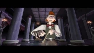 The Haunted Mansion PS2 Walkthrough Part 8 No Commentary Ballroom