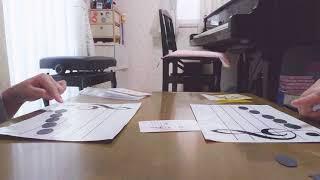 栃木県大田原市 リトミックとピアノ教室 「そなれ音楽教室」 年長さんの...