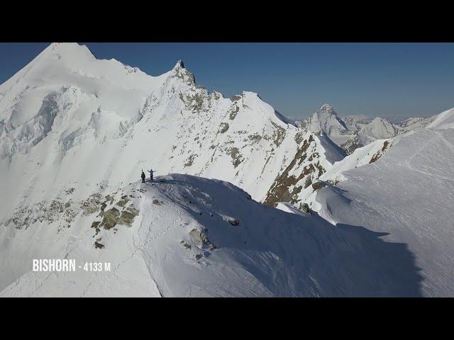 Big Mountain Skiing with Bastien Vidonne & Gaëtan Gaudissard   VAUDE