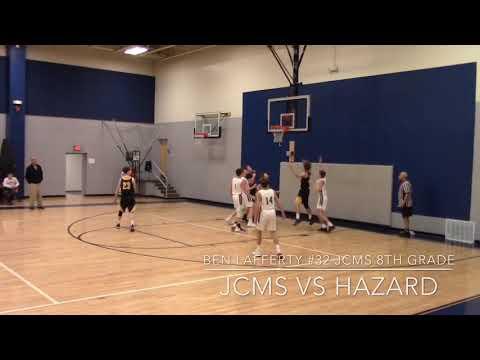 JOHNSON COUNTY MIDDLE SCHOOL vs HAZARD 1-7-2019