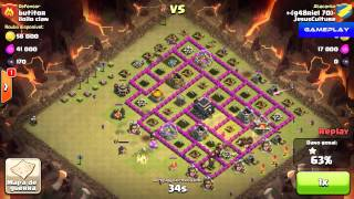 Clash of Clans - Como destruir as tropas do Clan inimigo rapidamente (Gameplay)