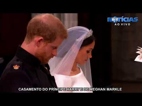 Veja como foi o casamento real de príncipe Harry e Meghan Markle
