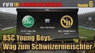 FIFA18 Young Boys -6 - Aleksic, Debut gegen St.Gallen [deutsch ¦ LetsPlay ¦ schweizerdeutsch ]