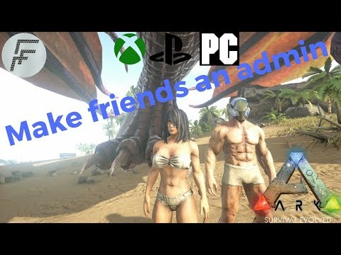 ARK: Survival Evolved How to let friends use admin commands