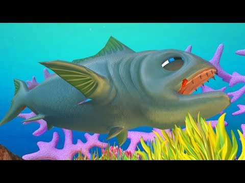Giant Tuna Fish Devours Great White Sharks! - Feed And Grow Fish Gameplay